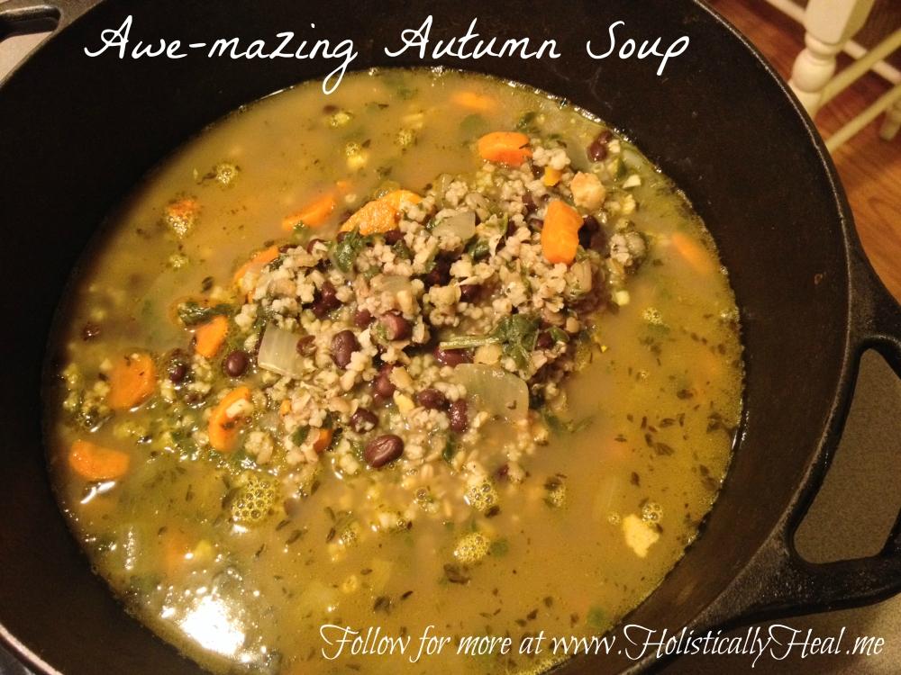 Awe-mazing Autumn Organic Soup